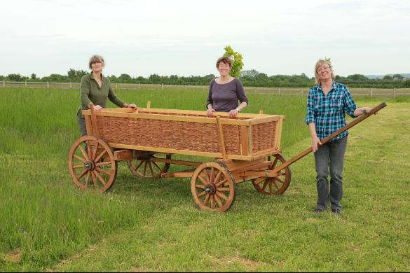 The Bier Coffin Cart