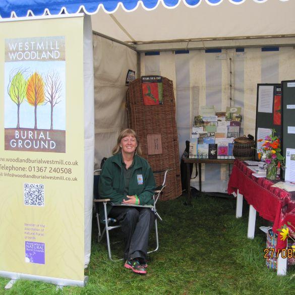 Treefest stall